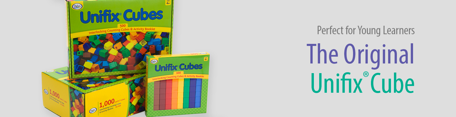 Unifix® Cubes for Math and Reading