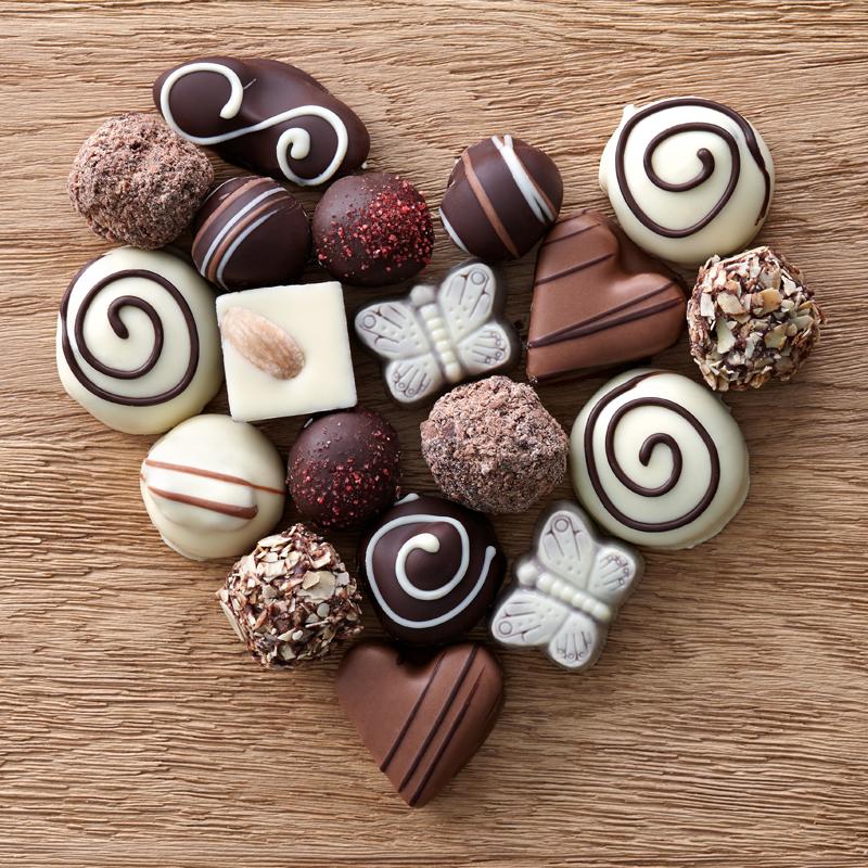 Creating Arrays with Chocolates