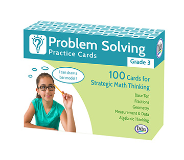 Problem Solving Practice Cards