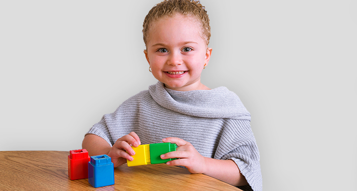 Big Fun for Little Hands with Jumbo Unifix Cubes