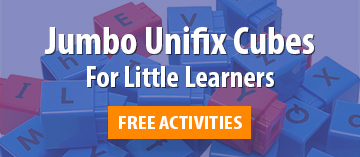 Jumbo Unifix Cubes for Math and Reading