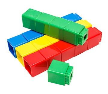 Jumbo Unifix Cubes