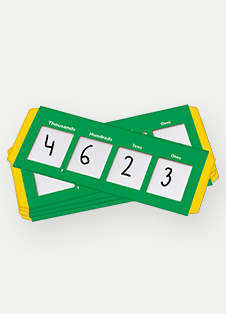 Save 25% on Place Value Sliders